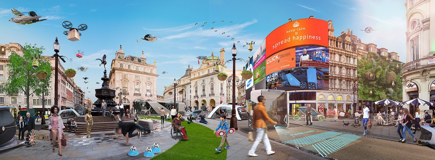 Piccadilly Circus Dawn UTOPIA REVIEW PROOF
