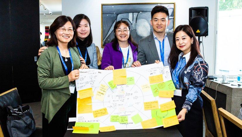 Fudan Masterclass innovation workshop