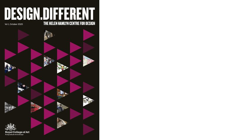 Design.Different, The Helen Hamlyn Centre for Design, Vol. 1, October 2020