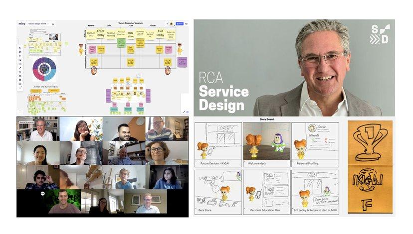 Service Design Online Delivery