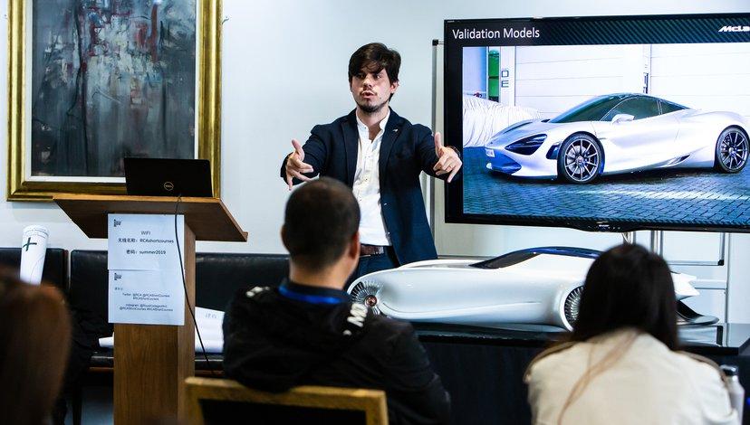 Esteban Palazzo, Principal Designer at McLaren Automotive