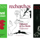 Covers of different issues of Revue Recherches, the journal edited by CERFI