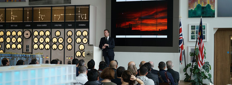 KFAS Innovation Challenge visit to Battersea Power Station