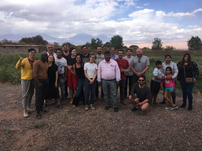 Field trip to Atacama Desert, Chile, 2018