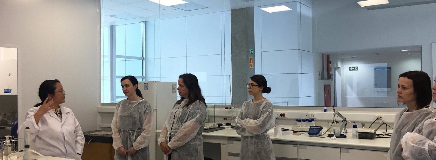 Visit to IPT Labs in the Bionano Building