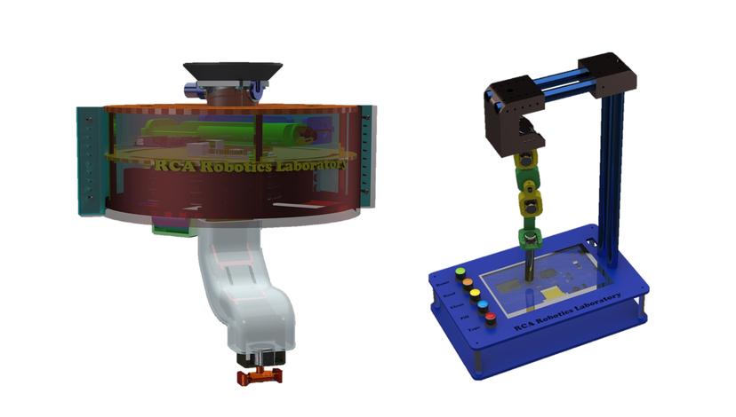 RCA Autonomous Repair Arm and User Interface