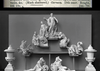 The Meissen table fountain parts as previously displayed in the V&A