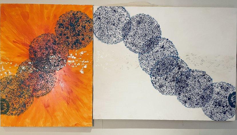 Nahoko O Komatsu [Resonance light ,space, nature and life energy], 2021 RCA Contemporary Art Summer School