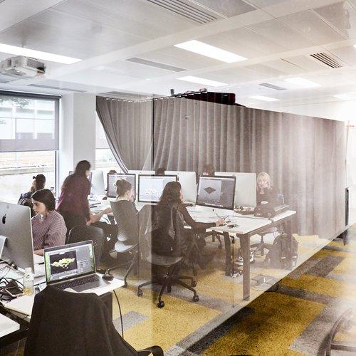 Computer room, White City