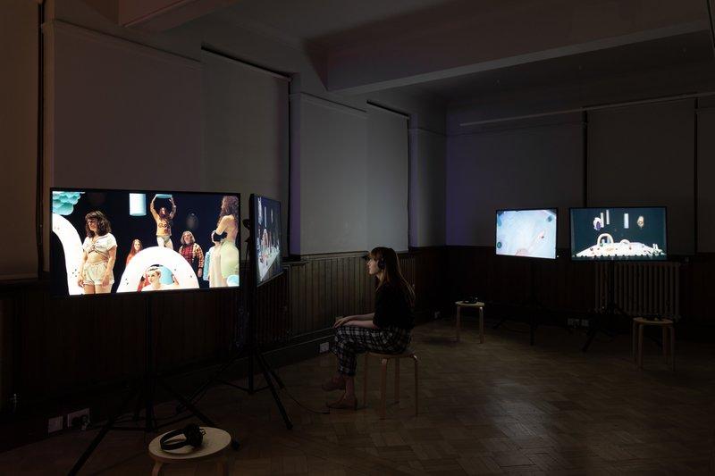 Tai Shani, installation shot, 2018