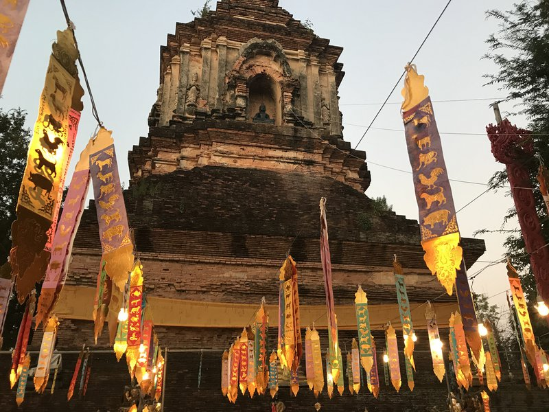 Wat in Chiang Mai. 2019 (photographer: Dr Peter Oakley)