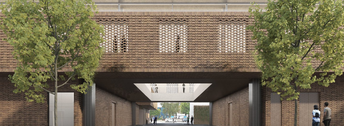 Designs for Royal College of Art Battersea South Campus