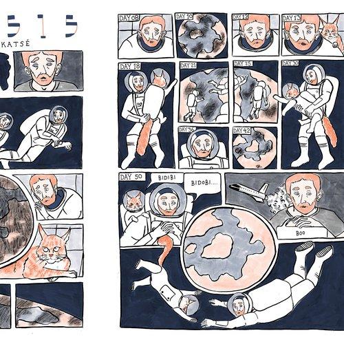 Genesis - Jonathan Katz Illustration