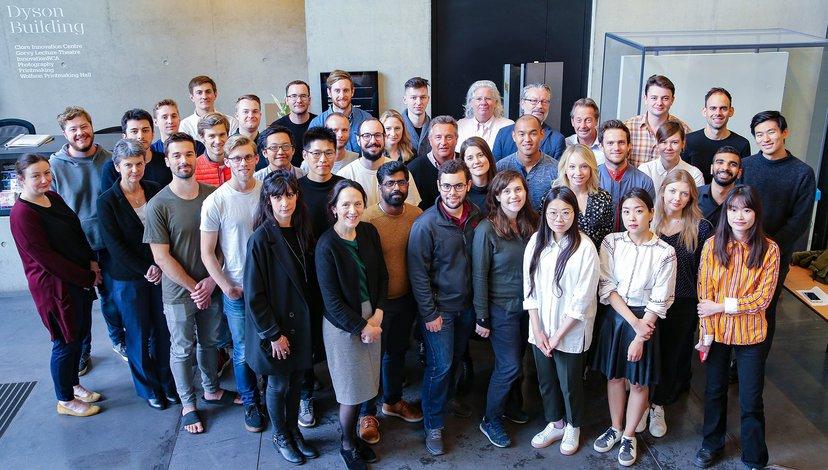 InnovationRCA Team and start-up companies