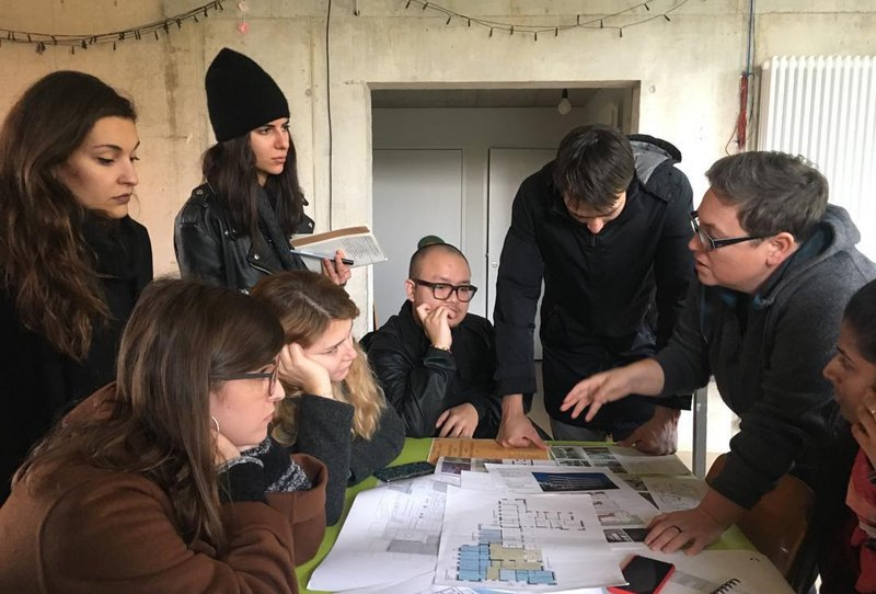 Study Tour + workshop, Kraftwerk II co-operative housing project, Zurich