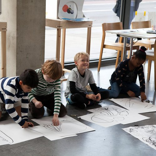 Creative Workshop in the Dyson Gallery